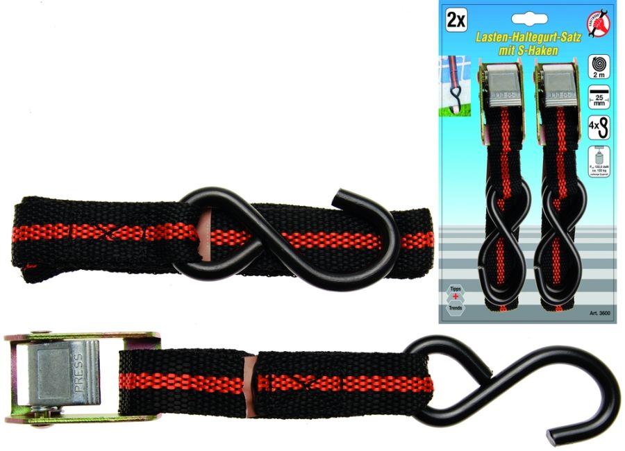 25 mm breit Knarren-Spannband 5 m lang